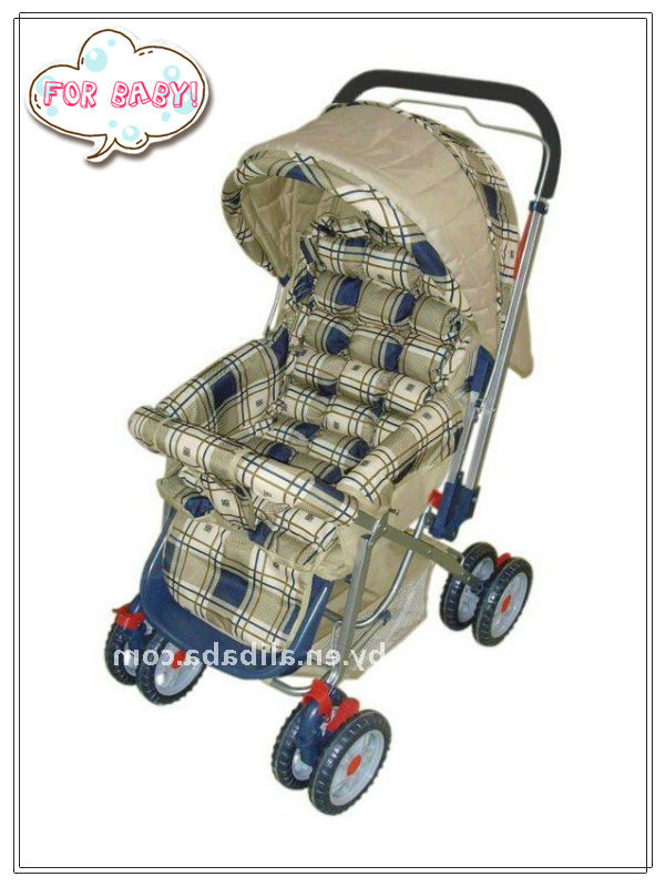 Cute dog fabric folding baby stroller MIX one container Item 2055