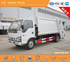 best selling hydraulic compactor truck rear loader garbage truck japan technology 600P 4x2 6m3
