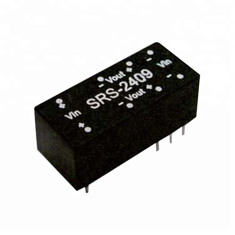 MEAN WELL SRS-2405 5V 0~100mA 0.5W DC-DC Regulated Single Output Converter DC//DC Converter