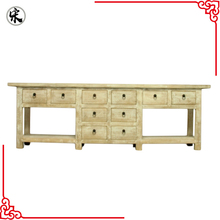 beijing factory price ten drawers recycle wood furniture