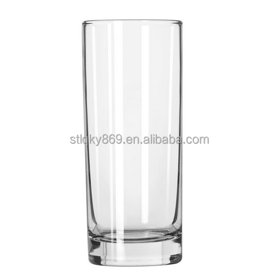 LYD124 tall and thin drinking glass cup parini cookware cheap dinnerware  tall cylinder glass vase