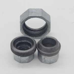 150 Psi DIN EN10242 Standard Water Supply Galvanized Beaded Cast Iron Pipe Fitting Union Conical Joint