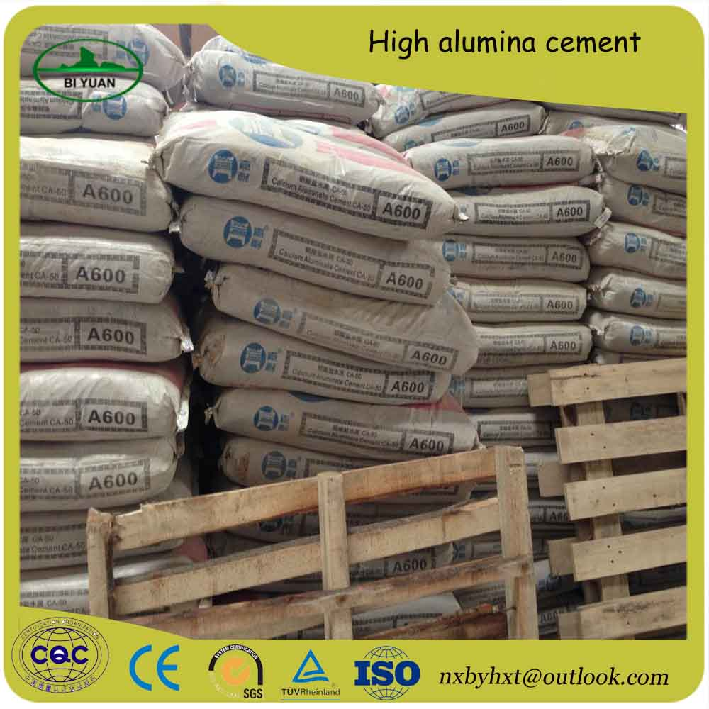 hardening quickly 55-60% Aluminate cement for fast and hard concrete works