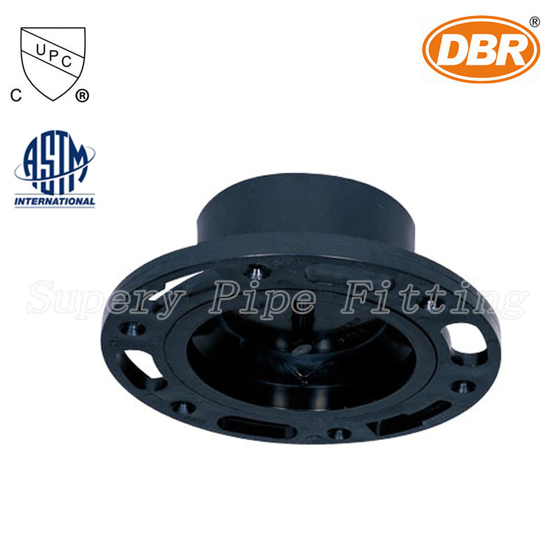 DWV Coupling Applications 12 inch PVC Drain Pipe Flange