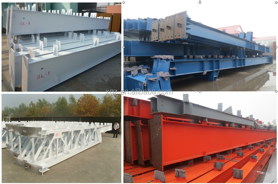 China Qualified steel structure construction prefabricated house for office warehouse school
