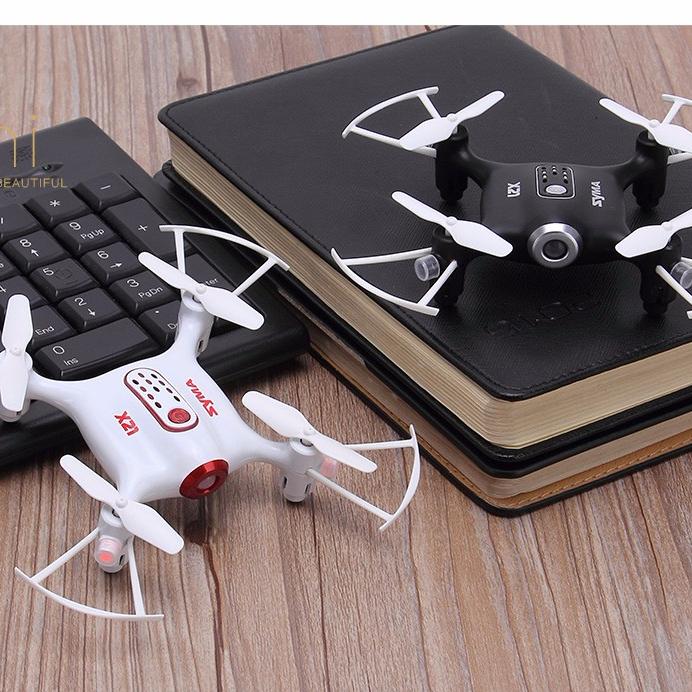 Syma X21 Pocket 6 Axles Drone LED 2.4Ghz Remote Control Mini RC Quadcopter MY