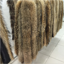 chinese raccoon fur trim wholesale natural colour raccoon fur trimming for hood