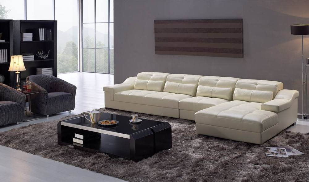 Kuka white leather sofa italy leather sofa manufacturers for Kuka sectional leather sofa