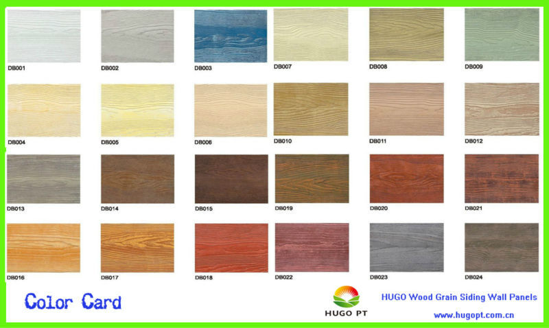 Fiber Cement Texture Mdf Wood Smart Board For Exterior