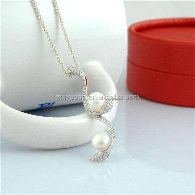 OEM accepted pearl necklace costume jewelry