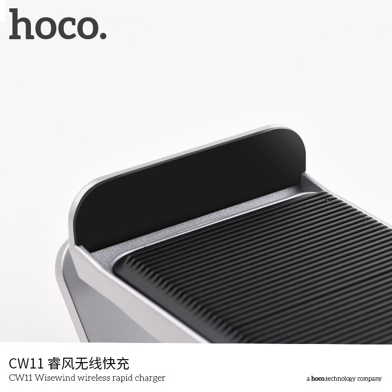 Hoco CW11 Fast Wireless Charger Output 10W for Smartphones Phone Charger Plates