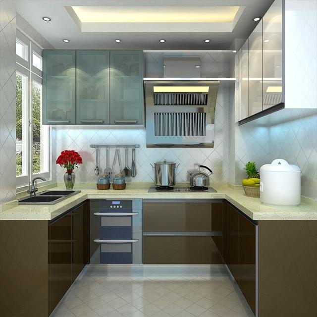 Prefab Cheap Modern Fiberglass Uv Kitchen Cabinets View Fiberglass Kitchen Cabinets Vc Cucine Product Details From Foshan Yajiasi Kitchen Cabinet Co Ltd On Alibaba Com