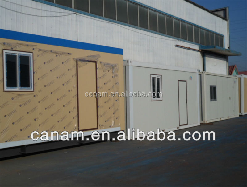 CANAM-Steel frame kit home sandwish panel prefabricated house for sale