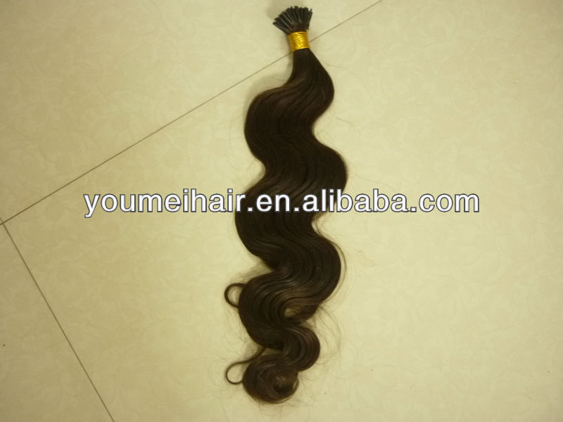 best selling and wholesale remy 100 human hair 100cm