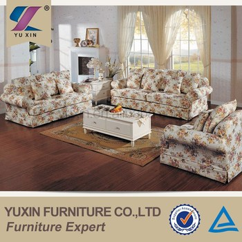 American Country Style Fabric Sofa Set From China