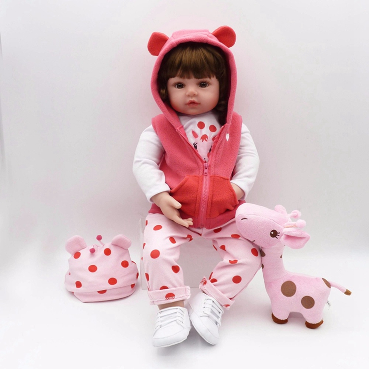 Latest new 58cm Silicone Reborn Boneca Realista Fashion Baby <strong>Dolls</strong> For Princess Children Birthday Gift Bebes Reborn <strong>Doll</strong> toys