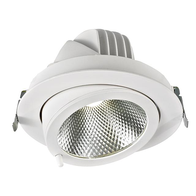 office fancy Gimbal led ceiling lights recessed spotlight elephant nose light