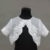 D1316 girl White Lace Wedding Bead Shawls Wraps Cape Wedding Dresses