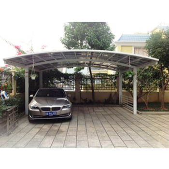 economic customers car park canopy iwth polycarbonate material