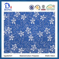 Buy Allover White coloured Embroidered Lace fabric in China on ...