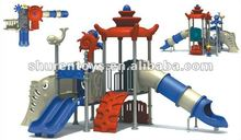 China new and plastic outdoor children playsets