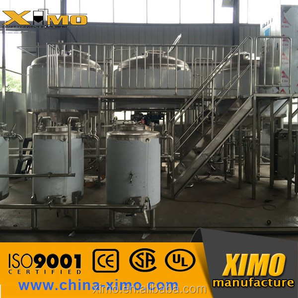 1000l wine making fermentor equipment,wine fermentation tank be used micro brewery plant