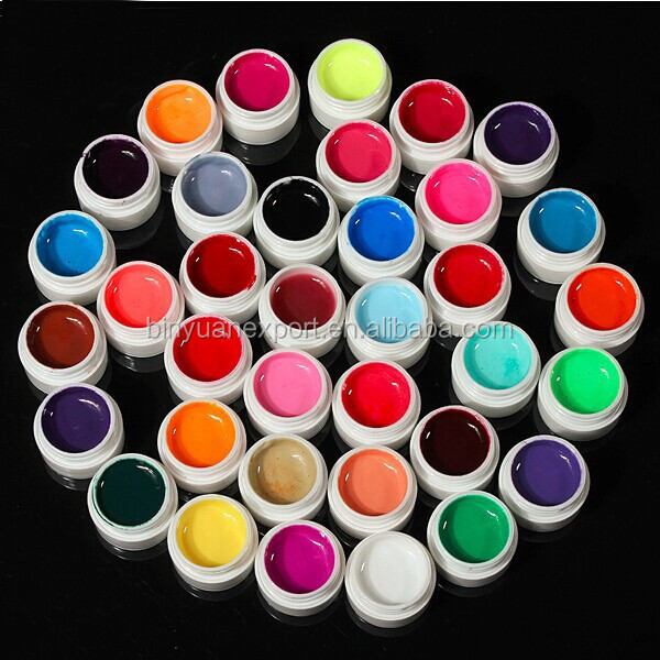 BIN professional 5ML 36 color nail art paint uv gel