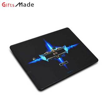 This year popular personalized advertising 3d custom frosted printed mouse pads