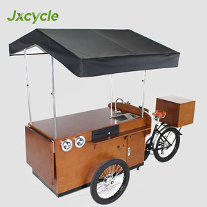 outdoor mobile kitchen 3 wheel coffee cart for sale