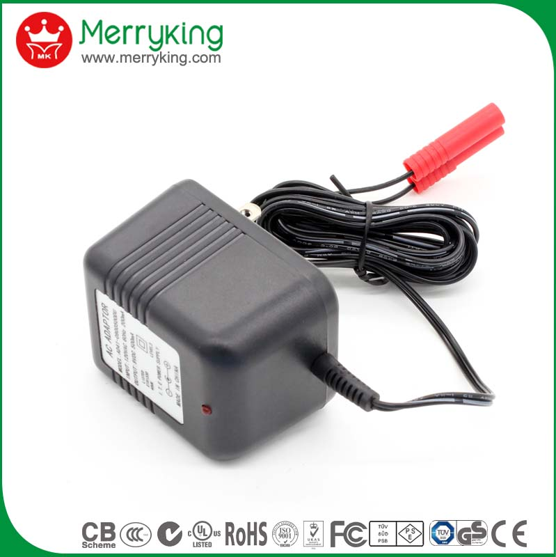 linear power supply with power supply led universal 9V 1A charger