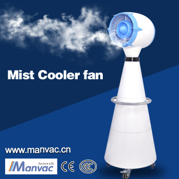 Battery Eletcric Power Source and Water Mist Fan Type Mist fan rechargeable