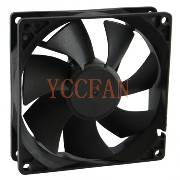 UL CE RoHS glass fiber reinforced material 92x92x25mm 90mm 12V DC exhaust fan