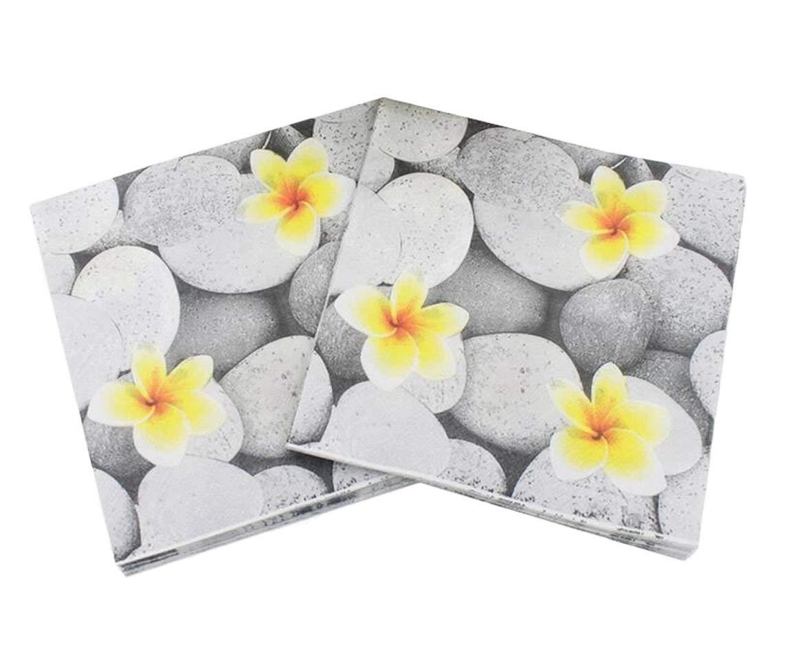 get quotations 40 count paper napkins designed vintage flowers prints cocktail napkins serviettes napkins for weeding
