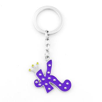 Lovely Metal Letter K Shaped Keychains - Buy Lovely Letter ... 80b8fec84