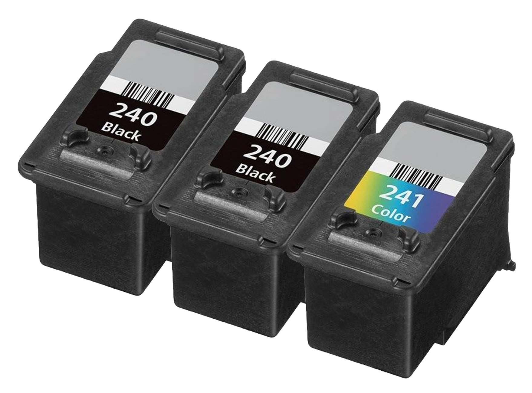 Get Quotations · OCProducts Refilled Canon 240 241 Ink Cartridge  Replacement for Canon Pixma MG2120 MX532 MG3220 MG3520 MG3620