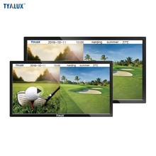 Wall mounted android lcd solar power advertising display