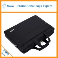 High quality nylon laptop bag, computer bag, notebook bag simple design universal black soft computer notebook case/bag