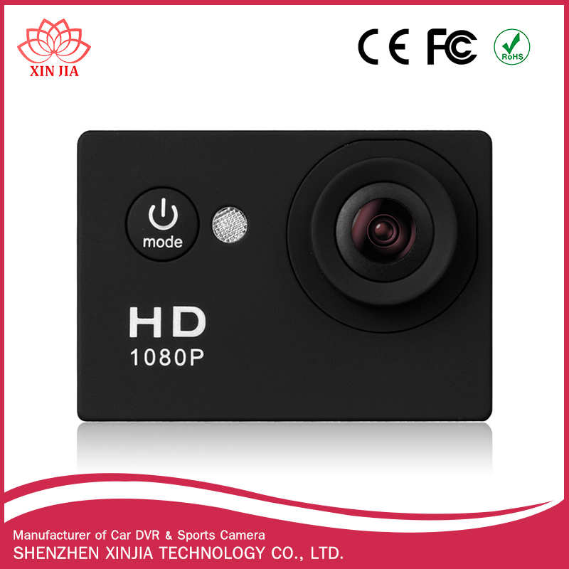 Cheap hot selling Mini DV 170 degree 1080P Full HD portable sport action camera