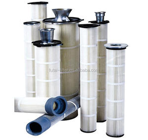 Spray Booth Filter Powder Cartridge Pleat