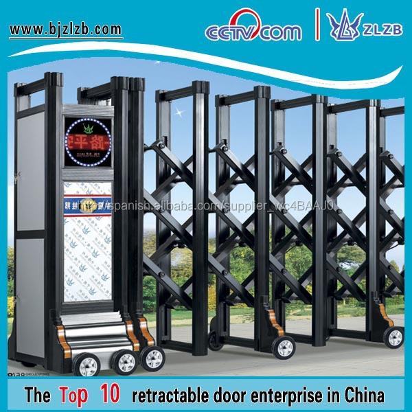 puertas correderas modelos operados automticos puertas metlicas