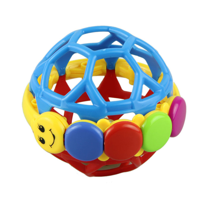 New Fashion Baby Toys Plastic Baby Rattles Grasping Bell Ball Sound Babies Educational Toys Products For Children Quality first