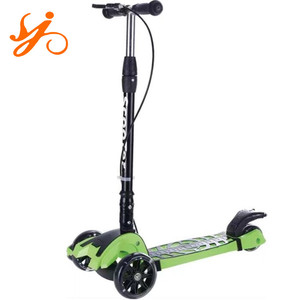 Carbon Material Three wheels lick dirt scooter / cheap foot pedal kick scooters for sale
