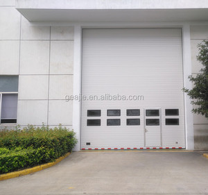 China cheap low headroom sectional door