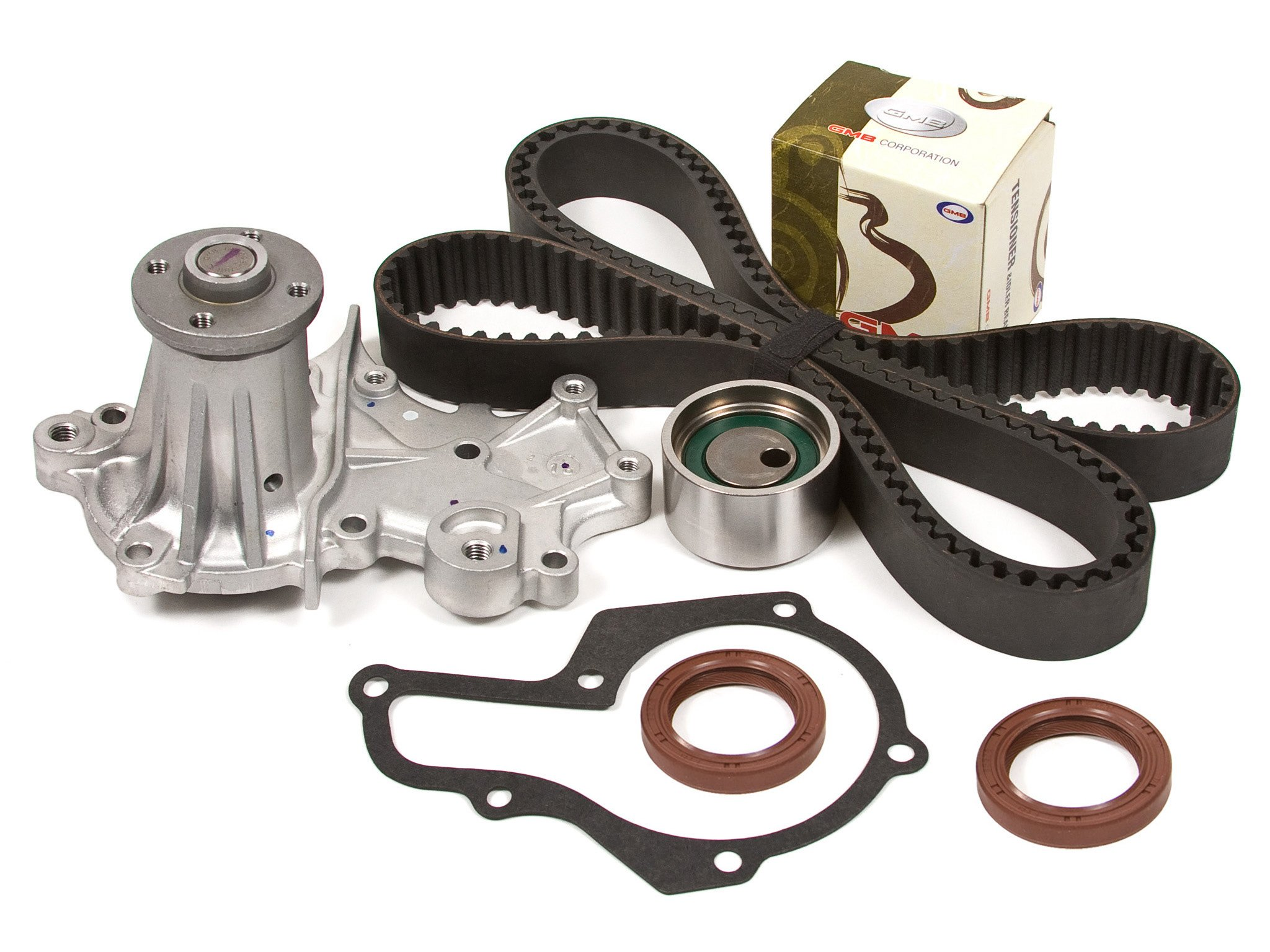 Get Quotations · Evergreen TBK212WPT Suzuki Chevrolet Geo 1.6L G16B SOHC Timing  Belt Kit Water Pump