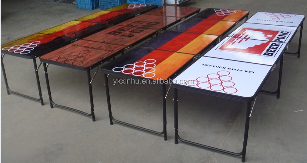 High quality ft long beer pong light weight folding table buy