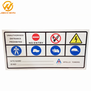 Aluminum Road Safety Sign / Traffic Warning Sign from China Supplier