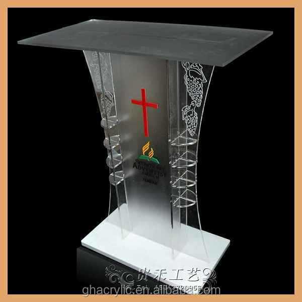 Church Pulpit Designs Glass Pulpit Price In Commercial Furniture ...