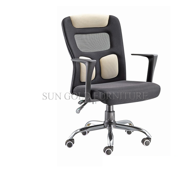 (SZ-OCK162) Mesh Adjustable Modern Office  foldable training Chair with writing board