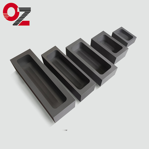 China supplier gold silver casting graphite ingot mould