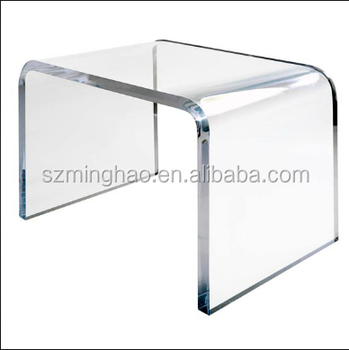 Lucite Coffee Table.Clear Acrylic Lucite Coffee Table Lucite Bed Side Table Buy Clear Plastic Coffee Tables Acrylic Lucite Waterfall Coffee Table Narrow Side Table